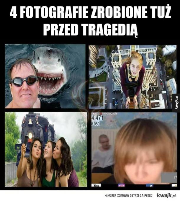 Tuż przed tragedią