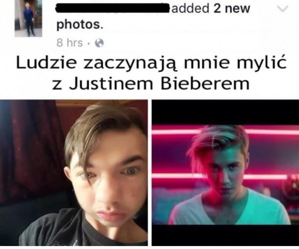 Bieber jak malowany
