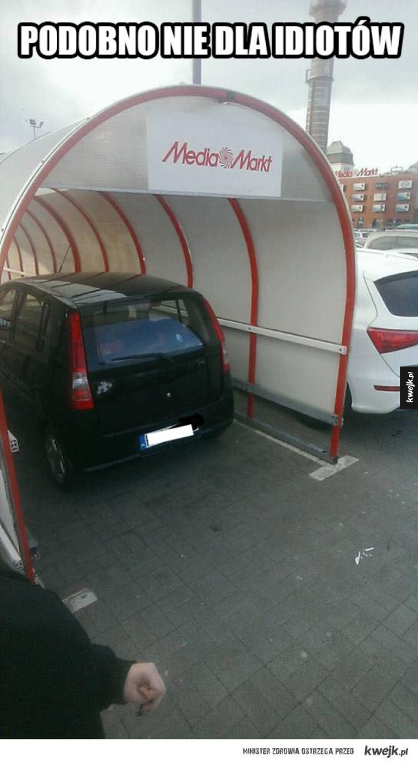 To się nazywa parkowanie