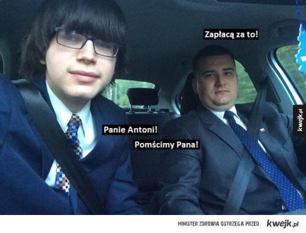 Antoni jedziemy do Ciebie