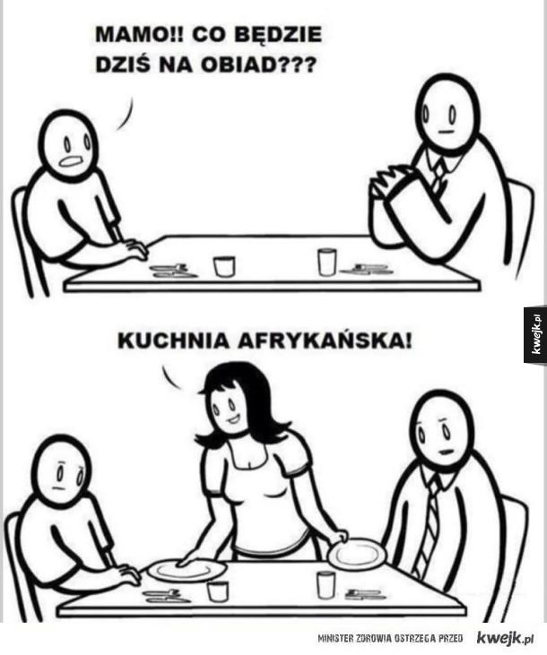 Kuchnia Afrykańska Ministerstwo śmiesznych Obrazków Kwejkpl