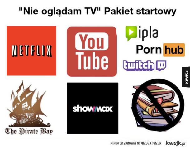 Nie oglądam TV