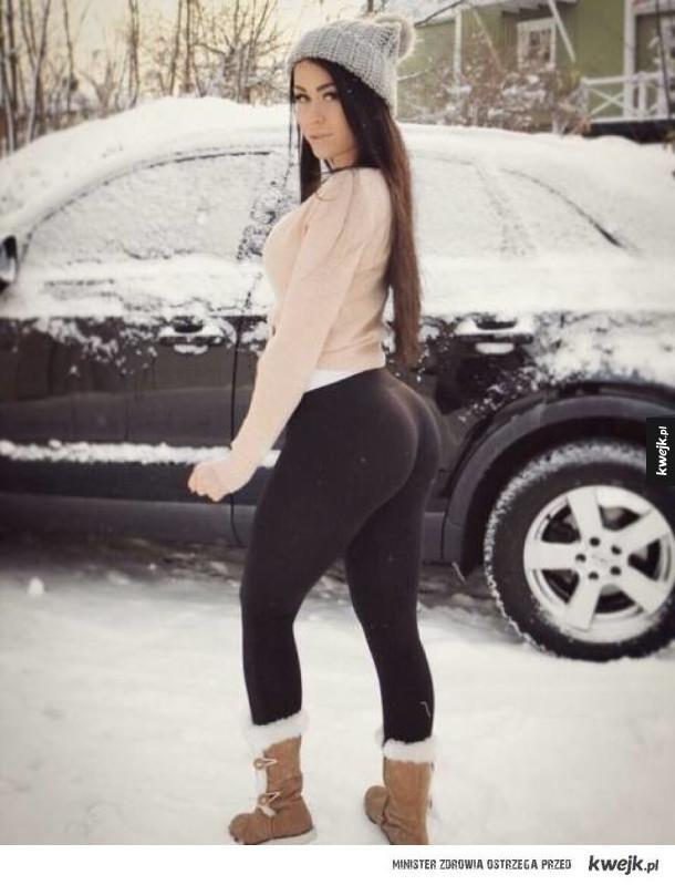Dziewczyny w legginsach są super sexy