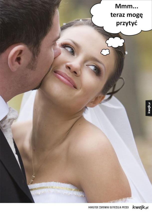 A po ślubie...