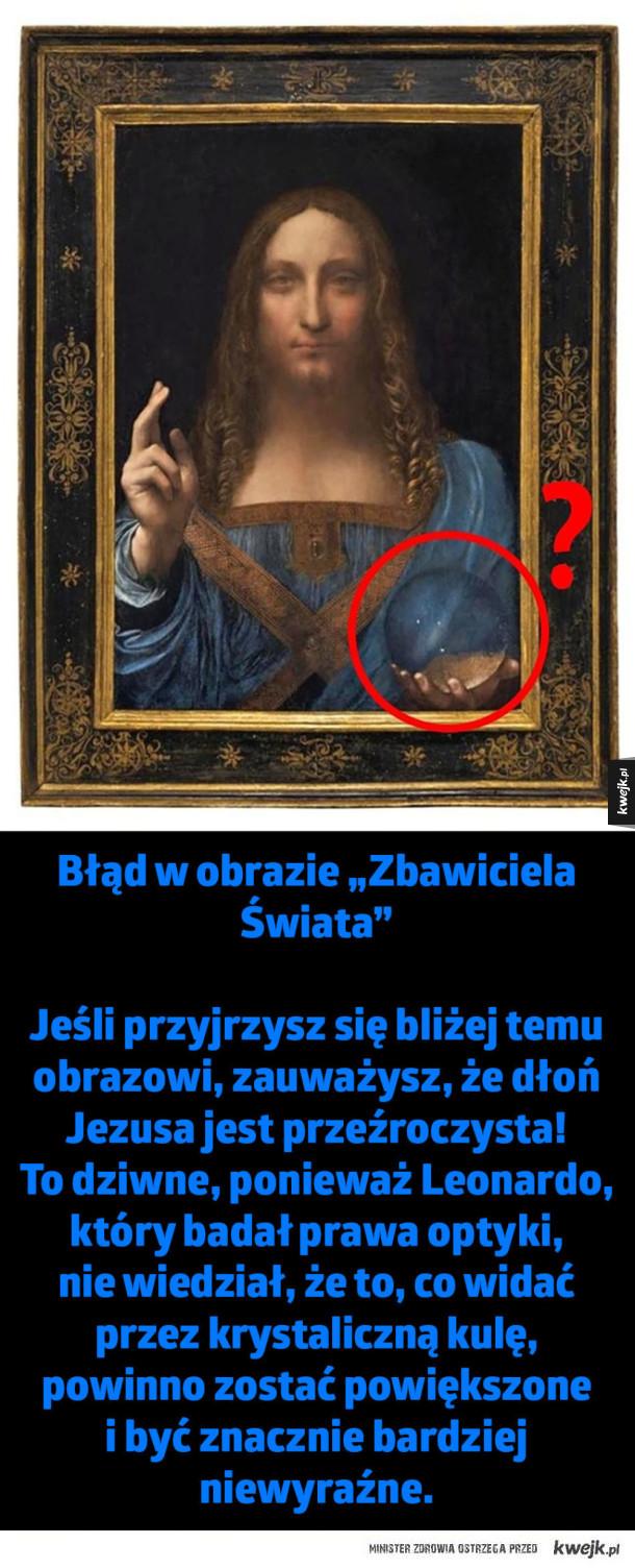 Tajemnice ukryte w obrazach Leonardo Da Vinci