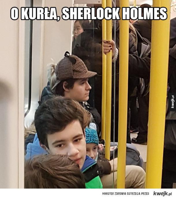 Sherlock Holmes jak malowany