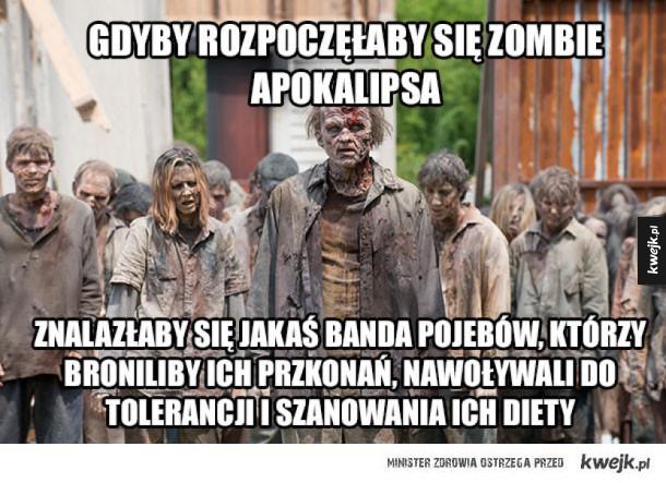 Zombie apokalipsa w tych czasach