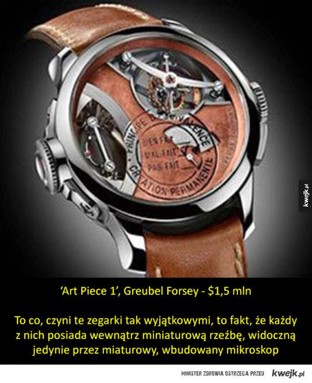 Najdroższe zegarki świata (w kolejności od najtańszego...)
