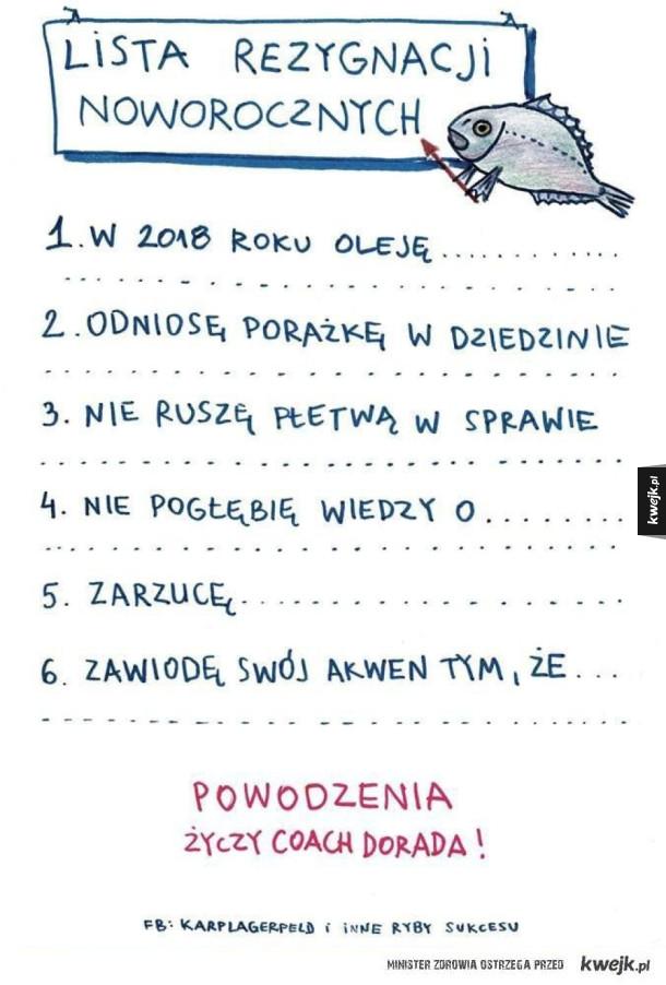 Noworoczna lista