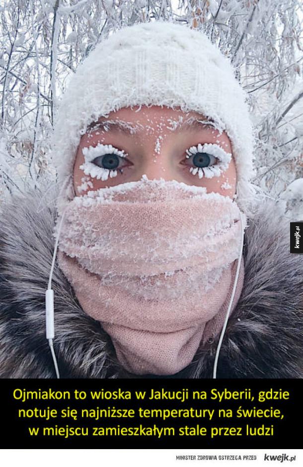 Ojmiakon - światowy biegun zimna