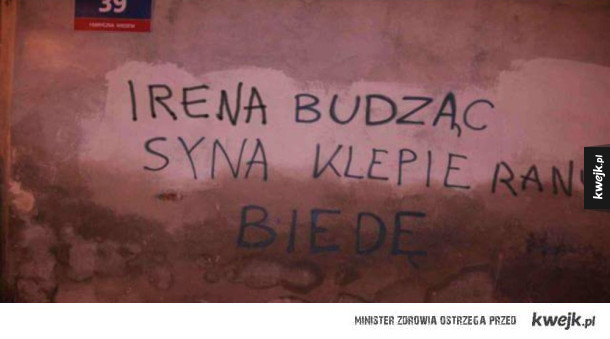 Napisy na murach