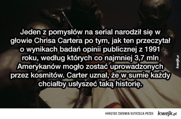 """Ciekawostki o """"Z Archiwum X"""""""