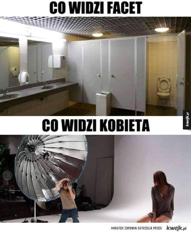 Robienie zdjęć w łazience