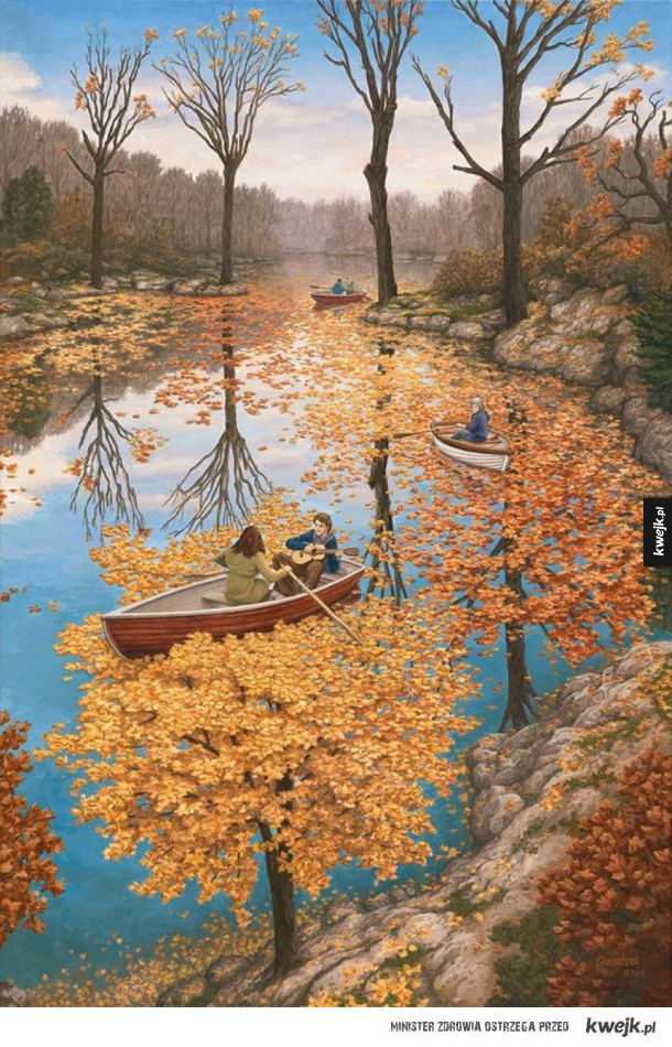 Graficzne iluzje autorstwa Roba Gonsalves