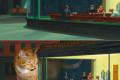 Słynne obrazy z tłustym rudym kotem w roli głównej ikonka 10