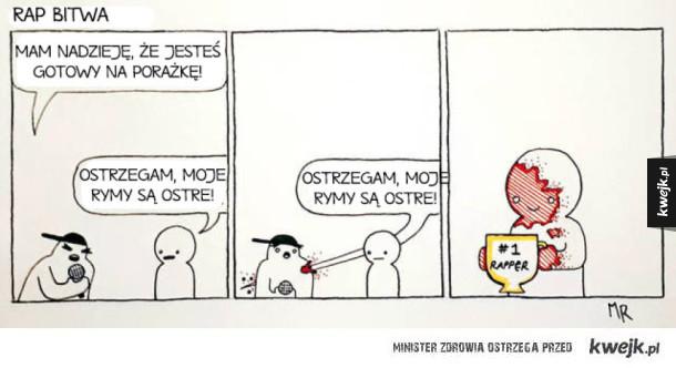 Lekko absurdalne komiksy dla ludzi ze specyficznym poczuciem humoru