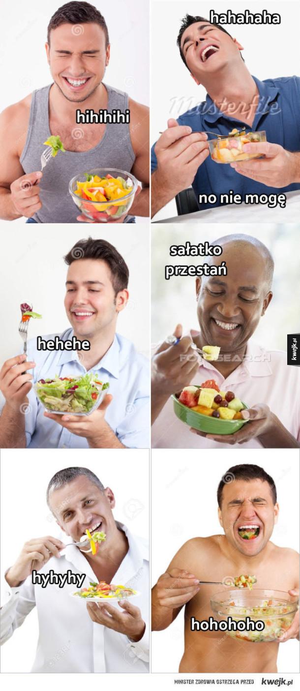 Śmieszna sałatka