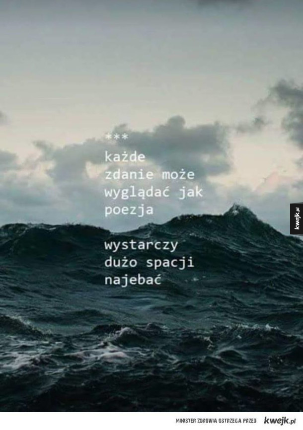 Krótko o poezji
