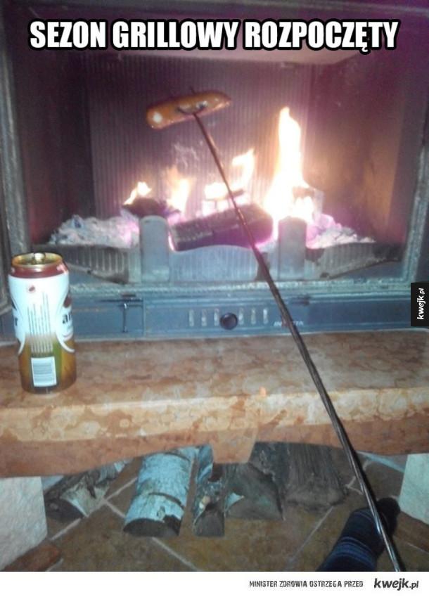 Pierwszy grill