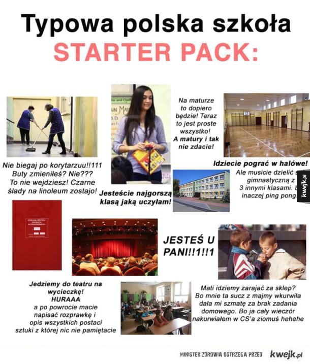 Polska szkoła - pakiet startowy