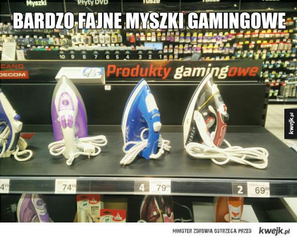 Świetny sprzęt gamingowy