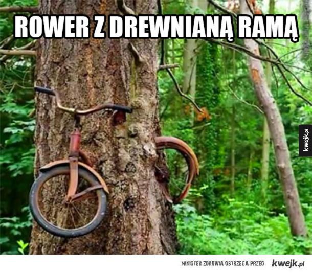 Widziałeś kiedyś taki rower?