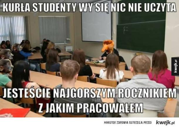 Każdy wykładowca