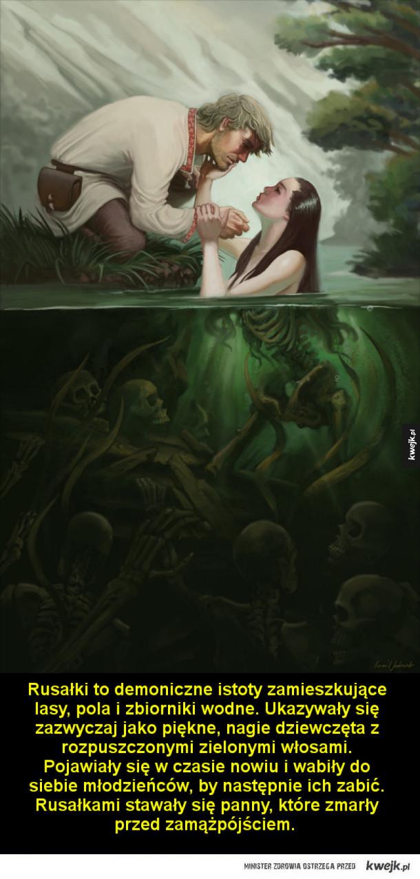Demony pochodzące z dawnych wierzeń słowiańskich