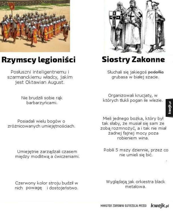 Szacunek dla legionów
