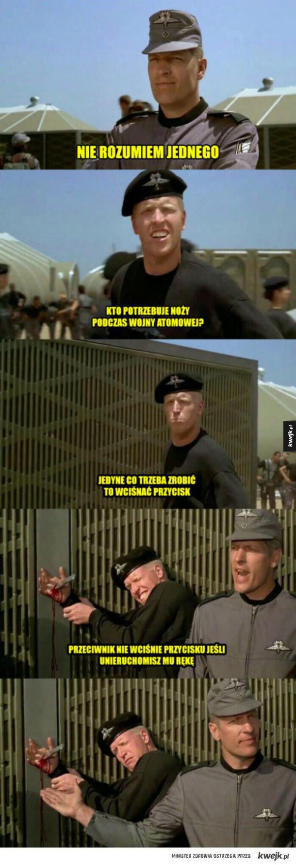 Nóż na wojnie atomowej