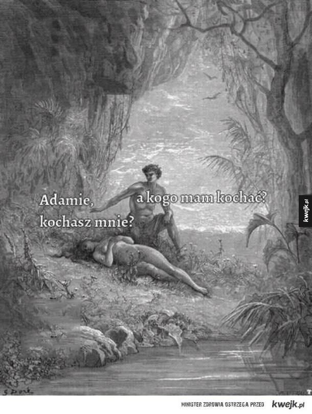 Adamie czy Ty mnie kochasz