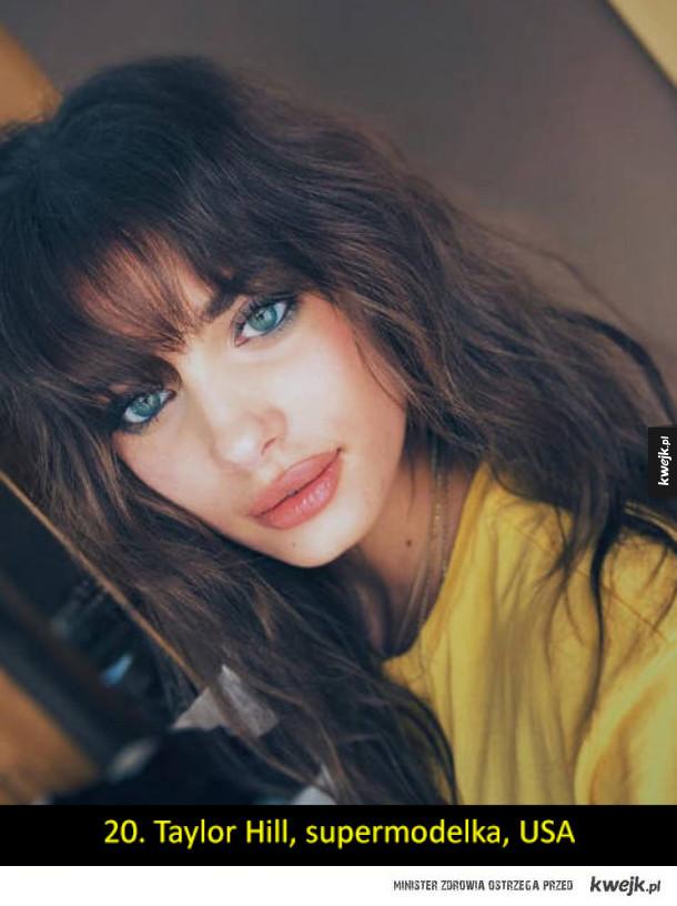 20 najpiękniejszych kobiet według internautów; co sądzicie?