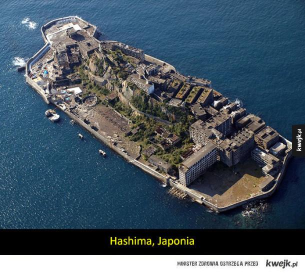 Opuszczone wyspy i historie jakie za nimi stoją
