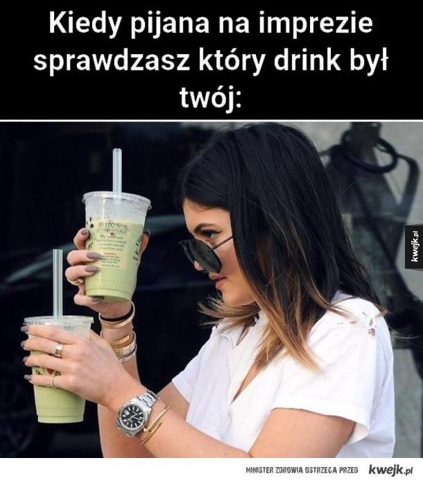 Kiedy sprawdzasz drinki
