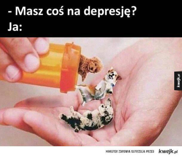 Lek na depresję