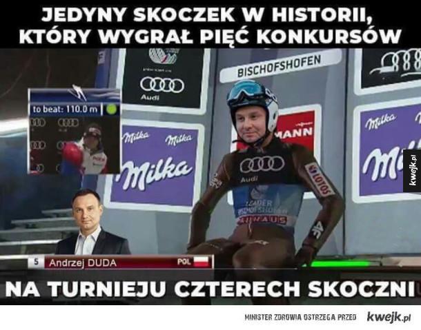 Potężny Polski skoczek