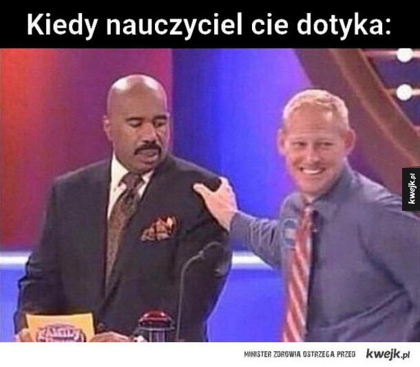 Kiedy nauczyciel cię dotyka