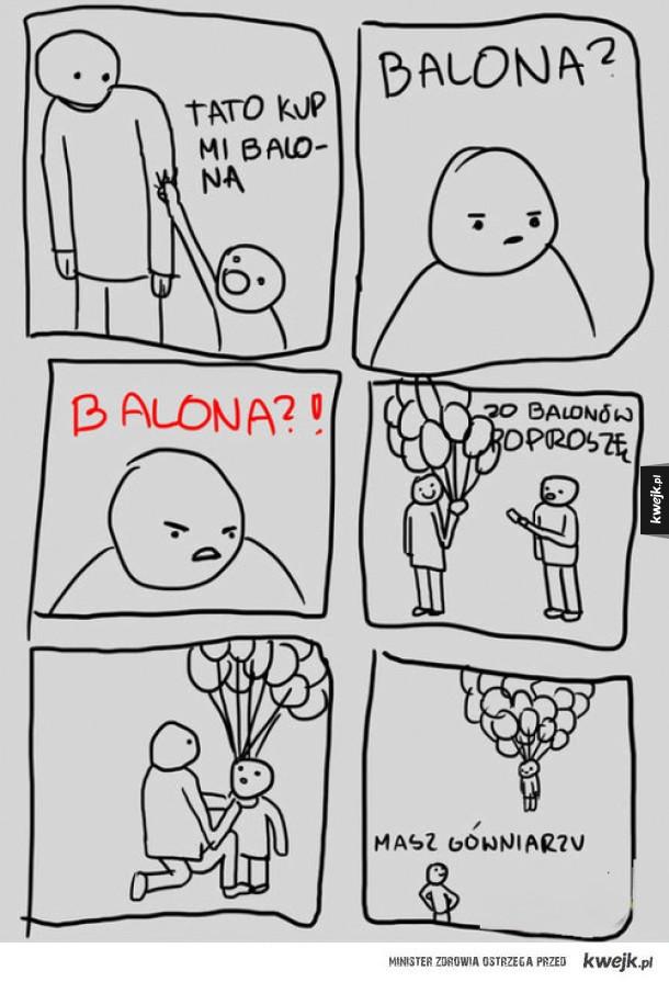 Tato, balona kup