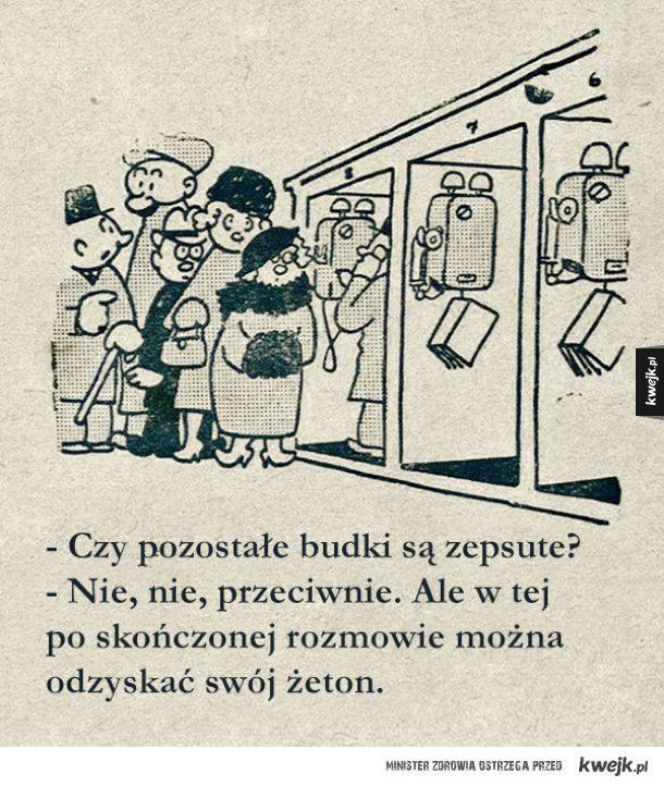 Rosyjskie satyryczne ilustracje z lat 30. dowodzą, że są rzeczy, które nigdy się nie zmienią