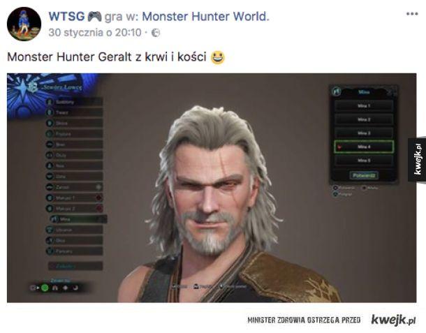 Prawdziwy Monster Hunter