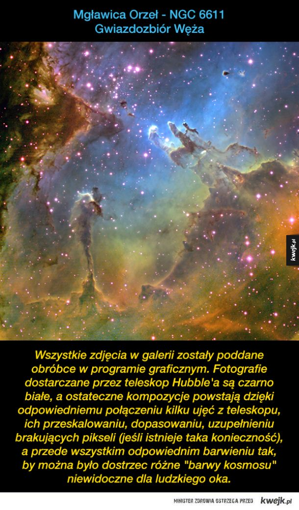 Kosmos w obiektywie Kosmicznego Teleskopu Hubble'a