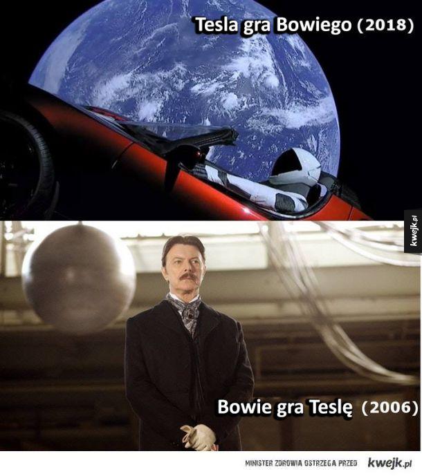 Tesla i Bowie