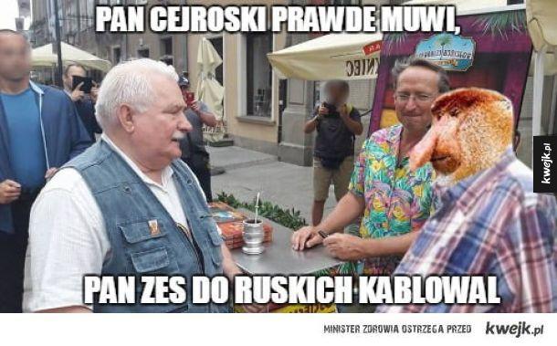 Wałęsa konfident