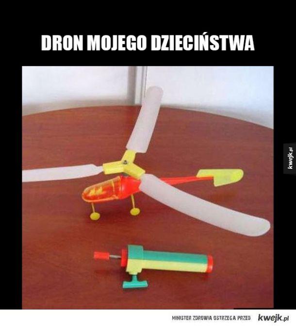 Dron dzieciństwa