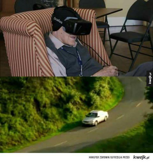 Biedny staruszek