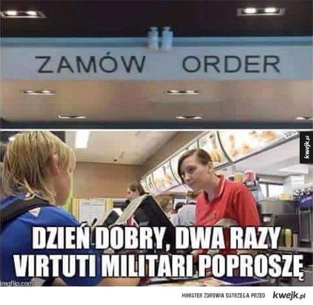 Zamów order