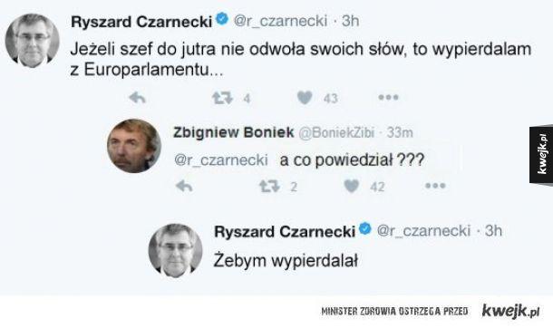 Europoseł Czarnecki