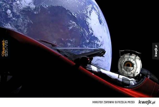 Jestem w kosmosie!