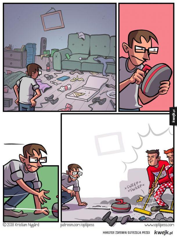 Olimpijskie sprzątanie