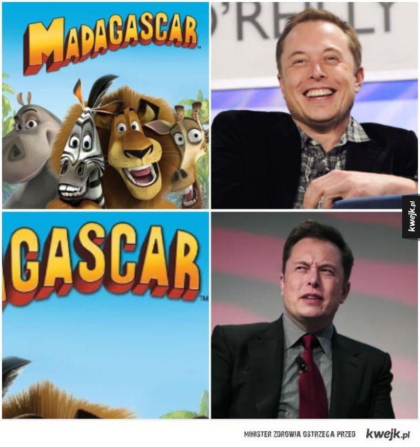 Elon smutny